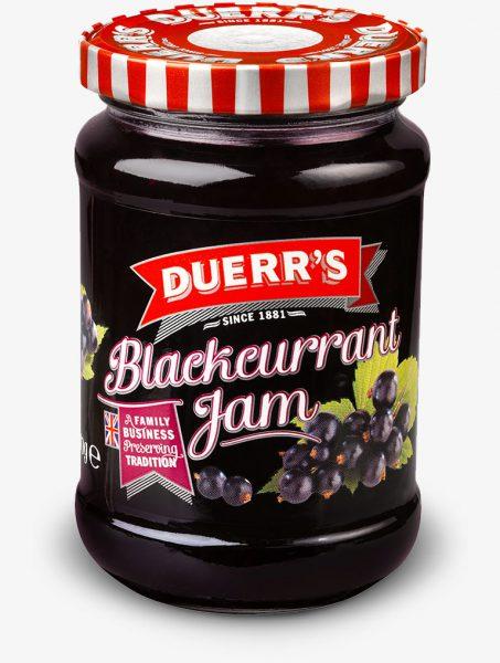 Duerr's Blackcurrant Jam