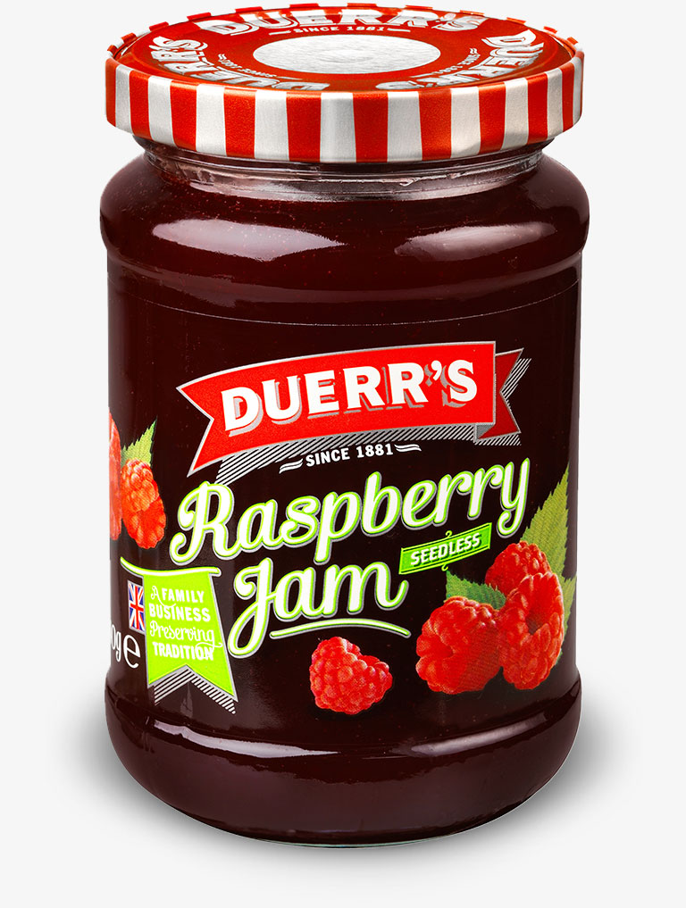 Duerr's Seedless Raspberry Jam