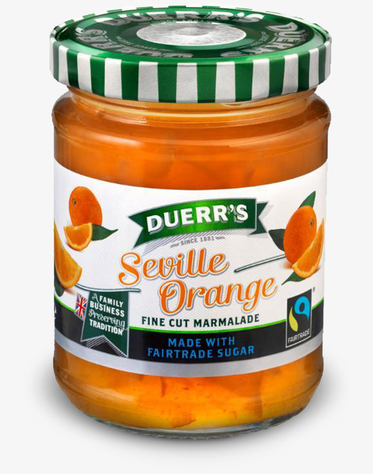 Duerr's Fairtrade Marmalade