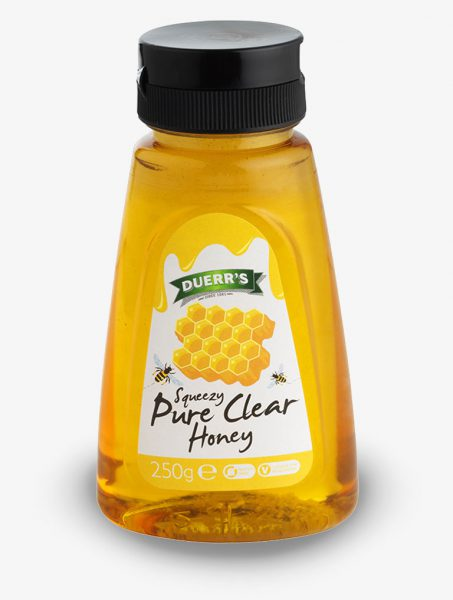 Duerr's Squeezy Pure Clear Honey
