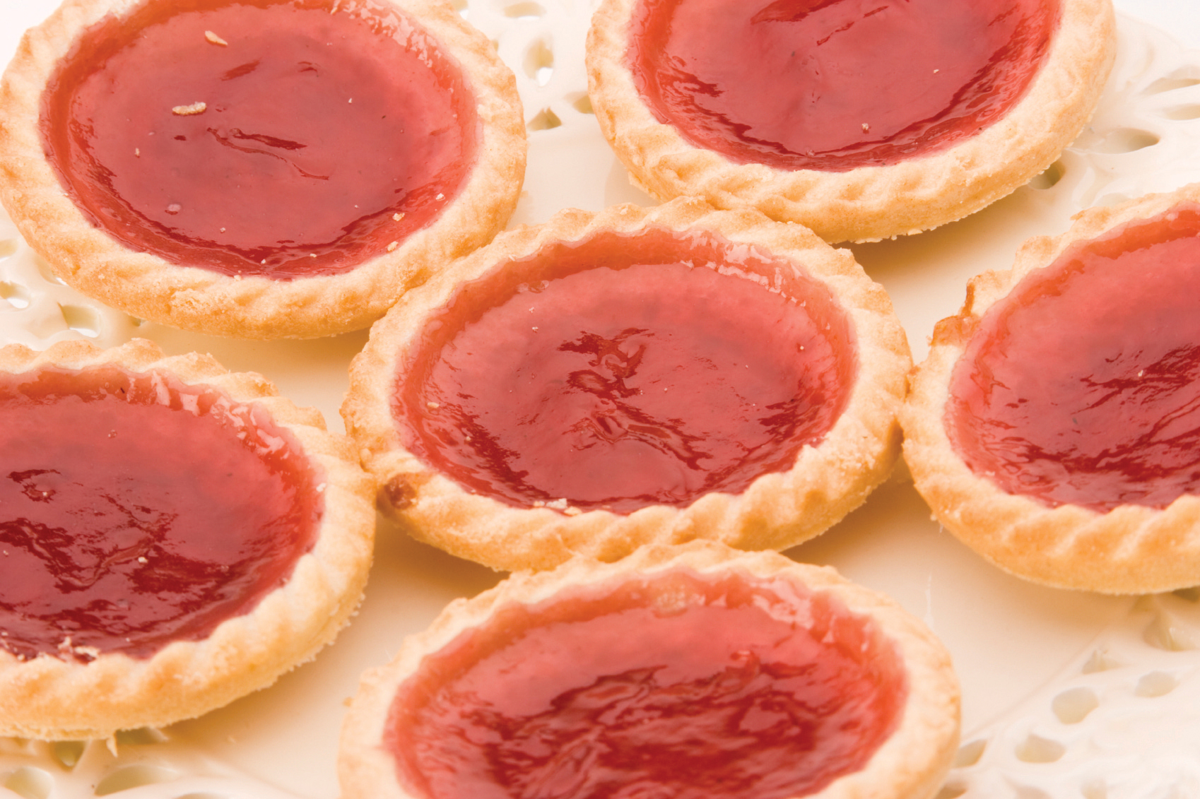 how to make strawberry jam tarts
