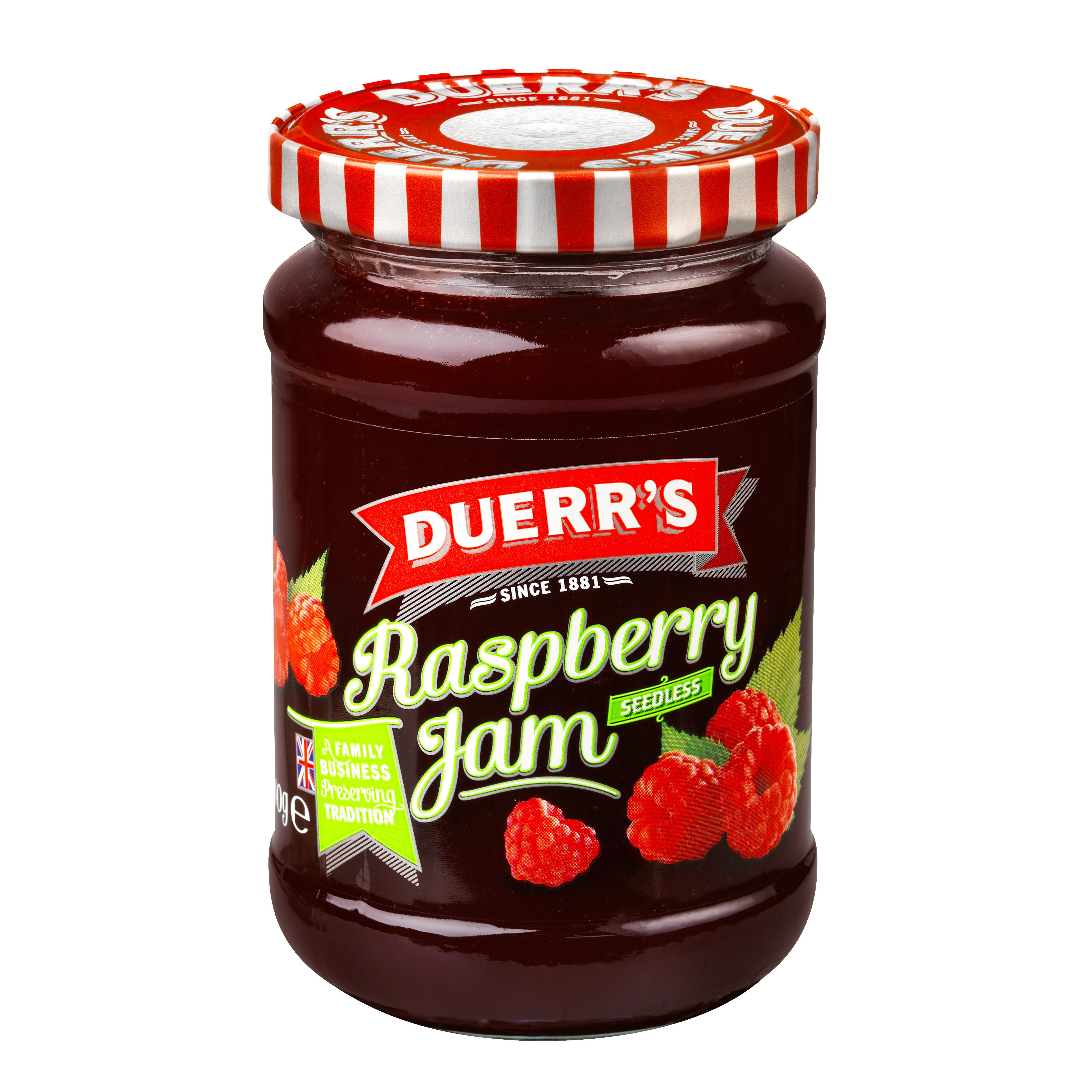 Seedless Raspberry Jam Duerr Sduerr S