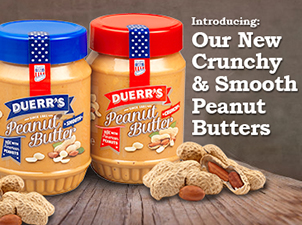 Introducing our Crunchy and Smooth Peanut Butters