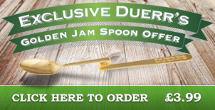 Exclusive Duerr's Golden Jam Spoon