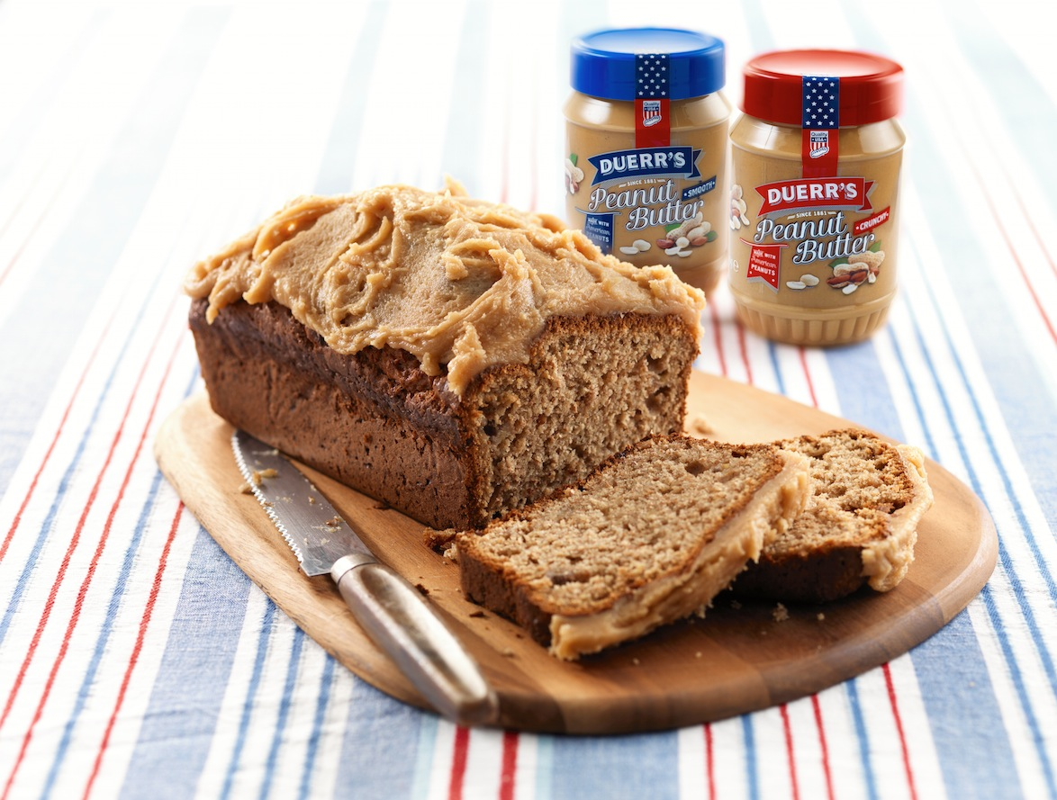 Peanut Butter and Banana Loaf