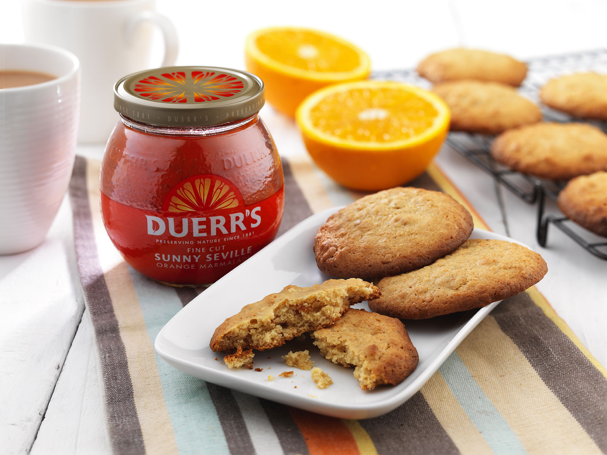 Marmalade Biscuits