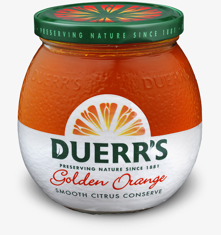 Golden Orange Smooth Citrus Conserve