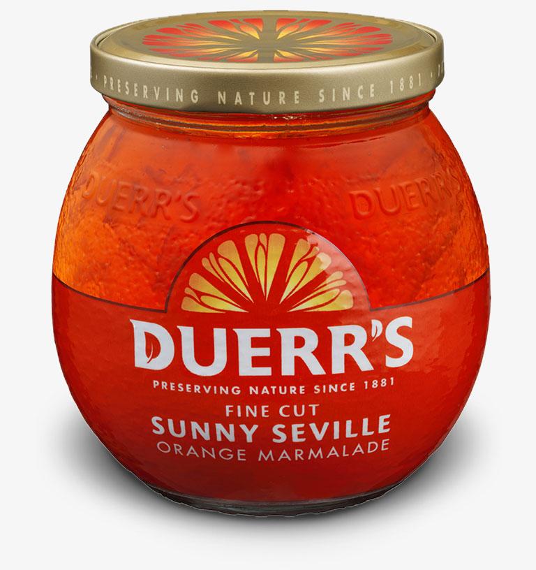 Duerr's Fine Cut Sunny Seville Orange Marmalade