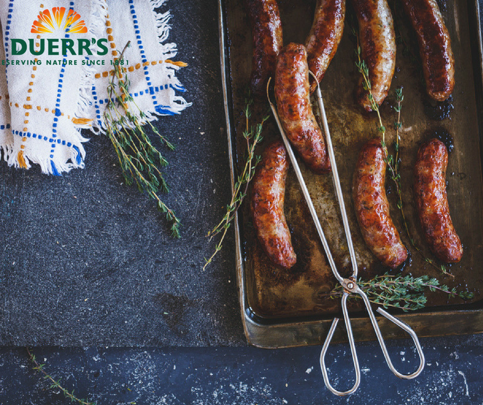 Duerr's Marmalade Sausages